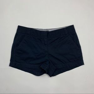 J. Crew Chino Sz 2 Navy Blue Casual Shorts